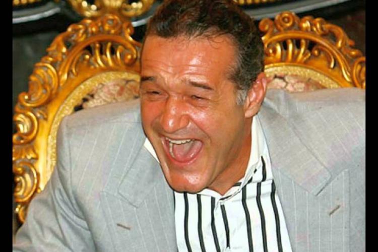 """Gigi Becali a râs în hohote de situația de la CFR Cluj și l-a ironizat pe Șumudică: """"Ce a pățit marele sultan al Turciei? Să se învețe minte"""""""