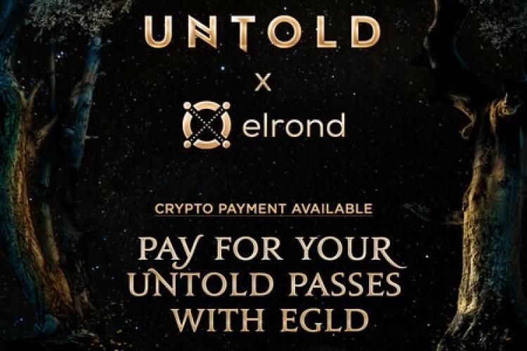 Abonamentele la UNTOLD 2021 pot fi achiziționate și cu moneda EGLD a celor de la Elrond Network