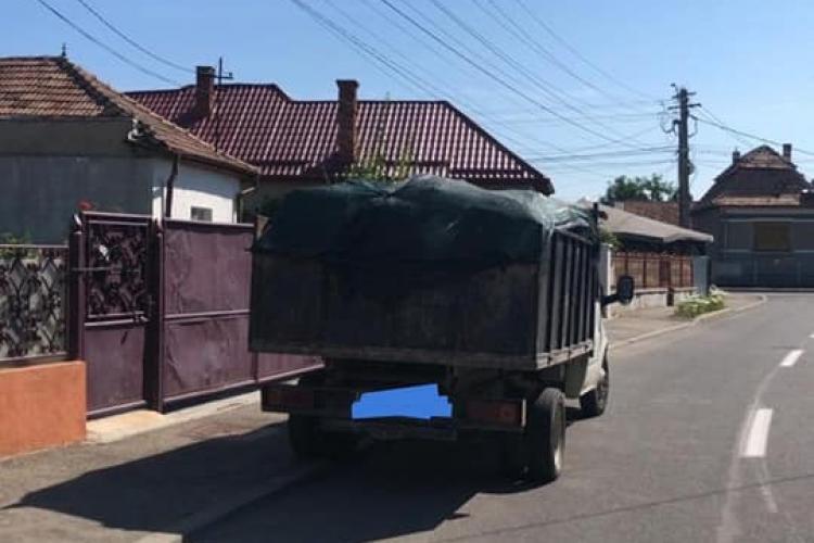 Amenzi ASPRE în Florești pentru cei care aruncă deșeuri în mod ilegal - FOTO