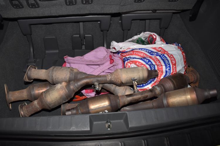 O rețea care fura catalizatoare auto a fost destructurată de polițiști