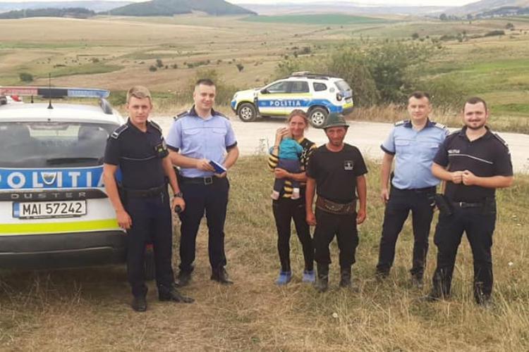 Caz demn de un film la Cluj. Prin 112 s-a spus că un copil de un an ar fi fost răpit. Poliția a acționat ca la carte - FOTO