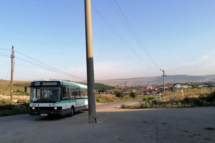 Un autobuz va circula gratuit la Pata Rât, pentru a aduce oamenii la muncă în Cluj-Napoca