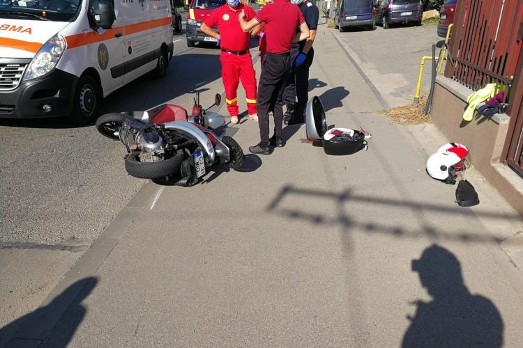 Accident rutier cu victime pe Bulevardul Muncii - FOTO