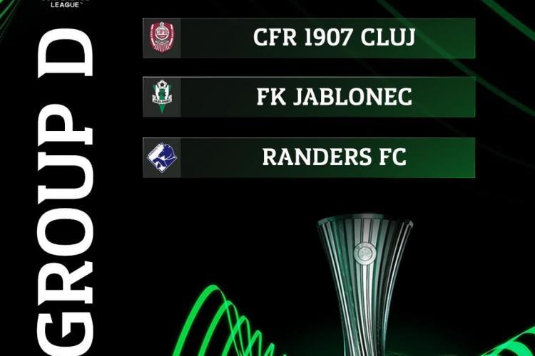 Cu ce echipe a căzut CFR Cluj in Conference League