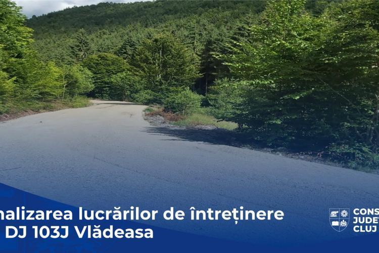 Drum lin spre Vlădeasa! Au fost finalizate lucrările drumului turistic - FOTO