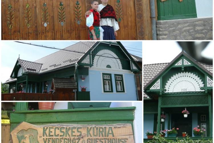 Sâncraiu, satul minune al turismului clujean. Casele par a fi dintr-un decor de film și turiștii se înghesuie - FOTO