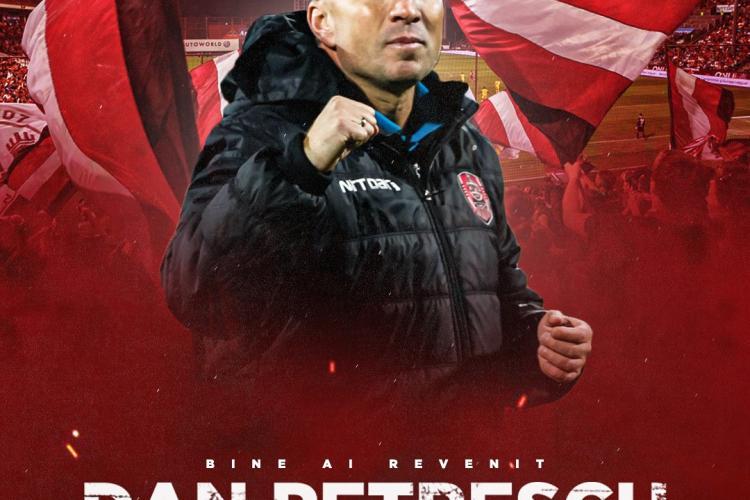 Dan Petrescu a semnat și a fost anunțat oficial la CFR Cluj