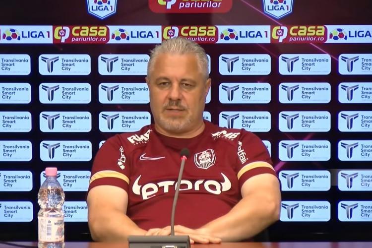 Șumudică, irascibil la conferința de presă înainte de duelul cu Steaua Roșie: Altă întrebare!