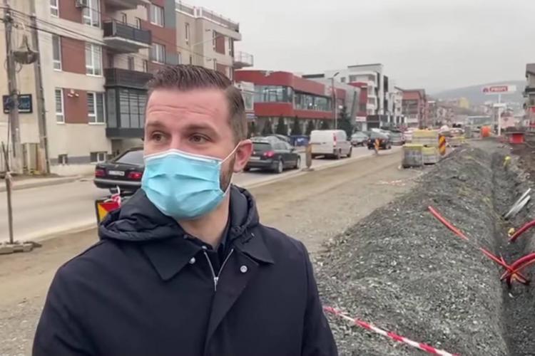 Pivariu promite soluții pentru aglomerația din Florești. Una dintre ele: modernizarea străzii Eroilor