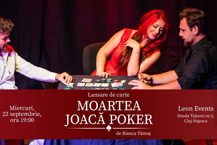 """Scriitoarea Bianca Tămaș lansează cartea """"Moartea joacă poker"""": """"A fost nevoie de 10 ani și alte 3 cărți ca să o pot duce la final"""""""