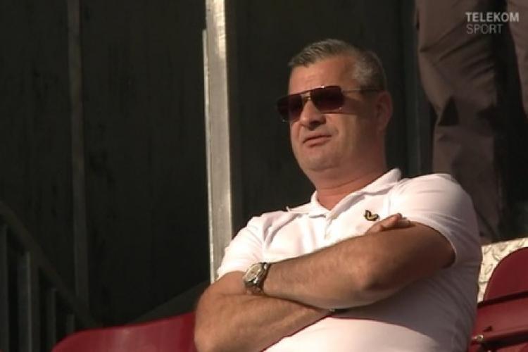 Patronul CFR Cluj, Neluțu Varga, a luat împrumut mare pentru a plăti despărțirea de Șumudică