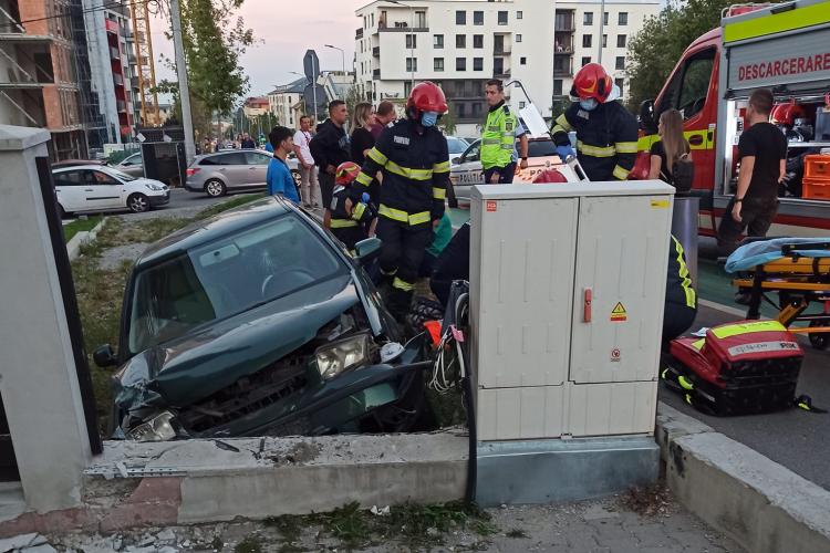 După accidentul ȘOCANT de luni seara, clujenii reclamă că strada Bună Ziua, modernă și smart, nu a fost bine proiectată