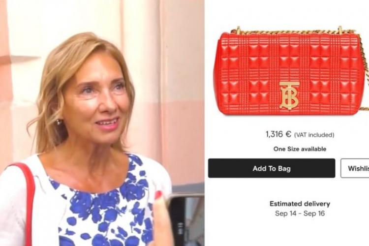 Geanta de 1.300 de euro purtată de Carmen Iohannis la început de an școlar