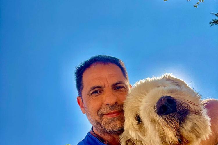 Dan Negru, mesaj dureros, după ce și-a pierdut tovarășul blănos - FOTO