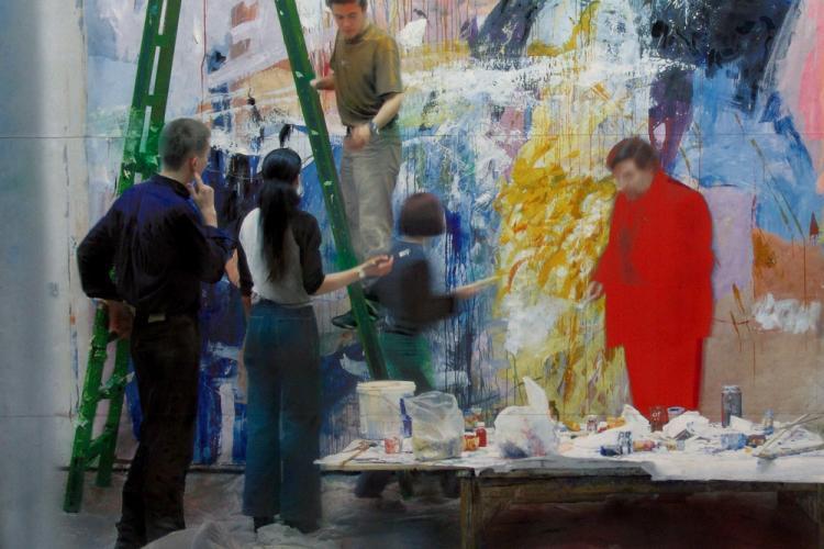 Tinerii artiști clujeni își expun picturile la Sibiu. Expoziția este deschisă pentru public din 3 septembrie