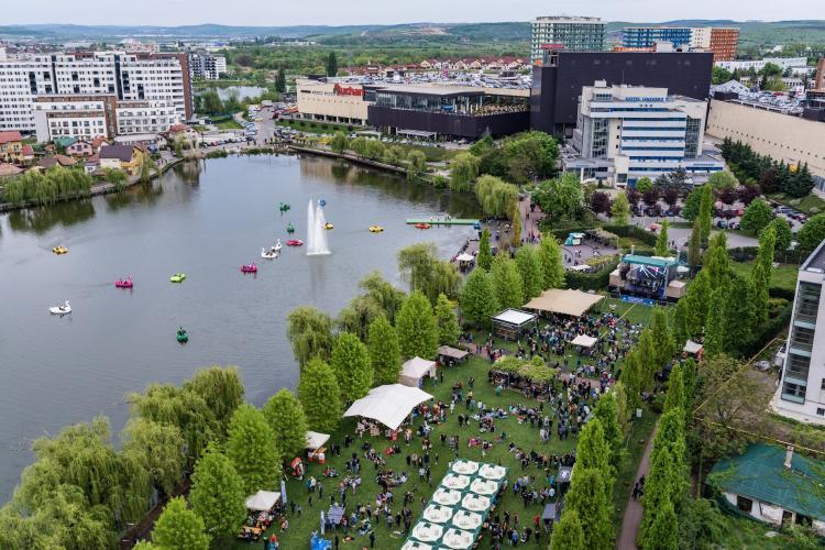 """Iulius Parc, una dintre """"scenele"""" Jazz in the Park. Află ce artiști vor concerta în acest weekend!"""