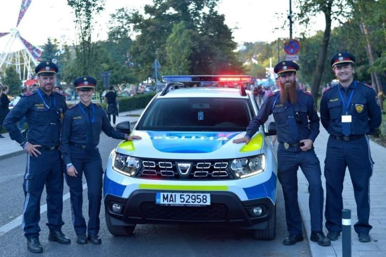 Sindicatul Europol vrea și în România polițiști cu barbă, pierce-uri sau tatuaje, după poza de la UNTOLD 2021 - FOTO