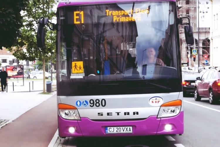 CTP Cluj suplimentează cu 30% numărul mijloacelor de transport în comun, o dată cu începerea școlii