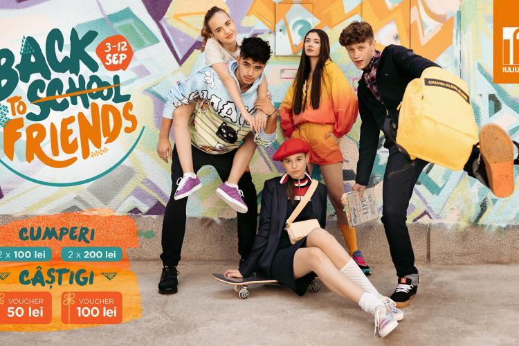Back to (school) friends! cu premii și outfit-uri stylish din Iulius Mall Cluj