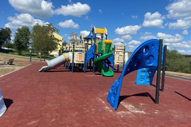Apare un nou parc în Florești, pe bulevardul Cetatea Fetei - FOTO