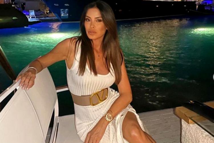 Superba Aida Yespica, fosta iubită lui Adrian Mutu, are un nou iubit. A renunțat la fotbaliști - Galerie FOTO