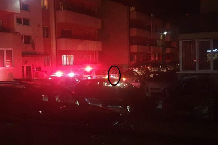Doi bărbați reținuți în Florești, în urma unui scandal. Unul dintre ei deținea un pistol - FOTO