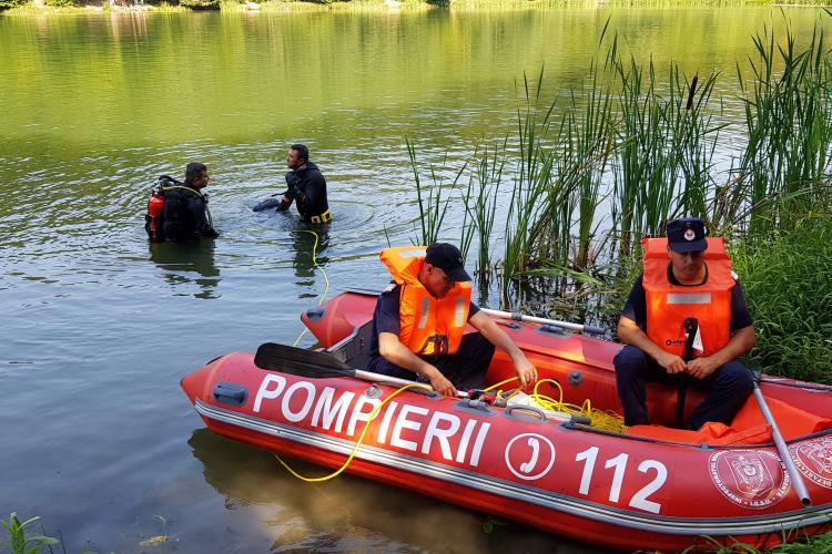 Cluj: Cadavrul unui bărbat a fost găsit în lac în localitatea Ceanu Mare