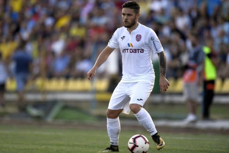 Alexandru Ioniță și-a reziliat contractul cu CFR Cluj. La ce echipa s-ar putea transfera