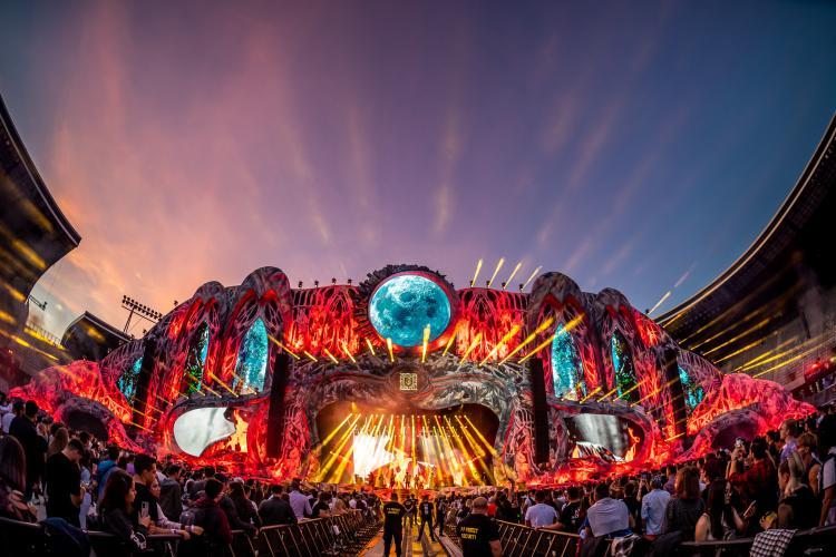 75.000 de oameni la UNTOLD 2021, în a treia zi. David Guetta a făcut senzație - VIDEO