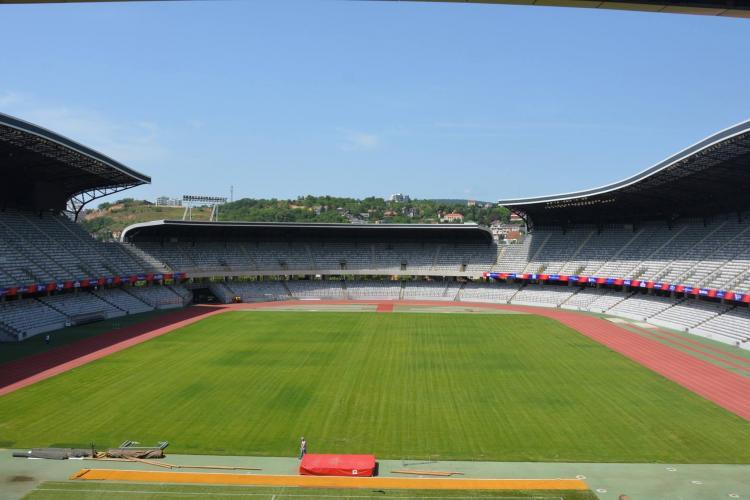 Stadionul Cluj Arena, verificat de UEFA în perspectiva găzduirii Campionatului European de fotbal U21 2023