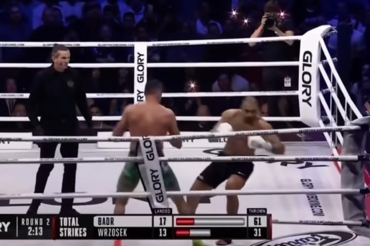 KO violent suferit de Badr Hari, în fața unui ultras de la Legia Varșovia - VIDEO