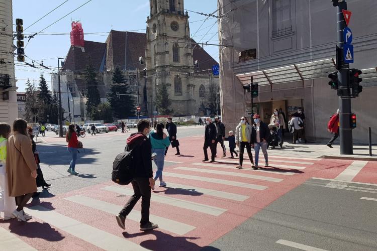 Localități din județul Cluj, unde rata de infectare a depășit 2 la mie