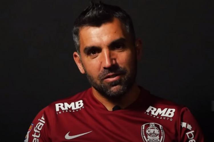 """Evident depășit de meci, Dan Petrescu spune că e încântat de Culio: """"Altfel nu îl scoteam!"""""""