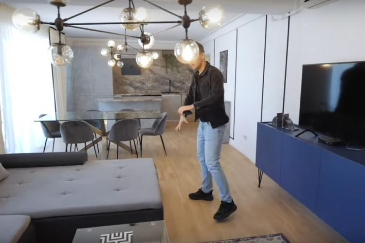 Cum arată un apartament de 350.000 de euro din Cluj-Napoca? Chiria lunară este de 1.500 de euro - VIDEO