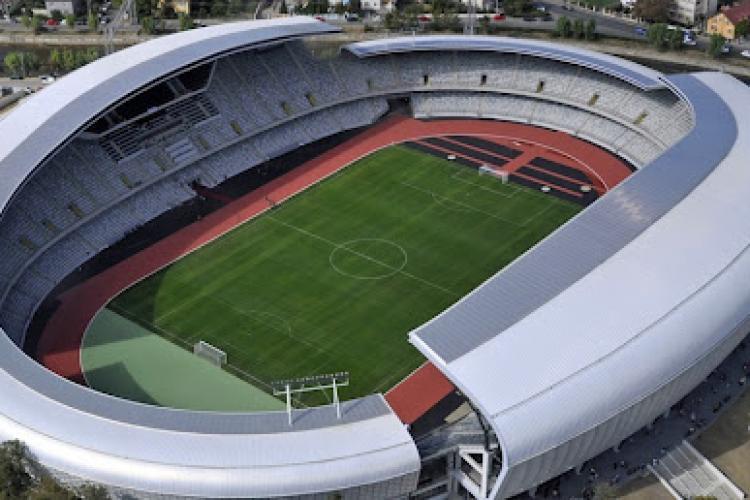 UEFA, în vizită la Cluj Arena. Delegația UEFA a verificat condițiile stadionului pentru Campionatul European de Fotbal U21 2023