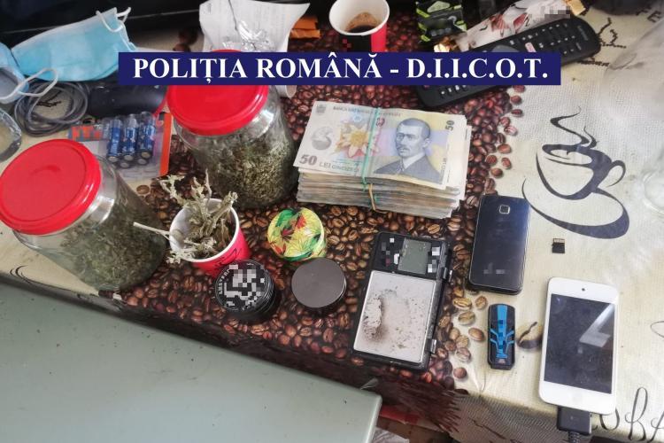 Traficant de droguri italian, reținut la Cluj de mascați - FOTO