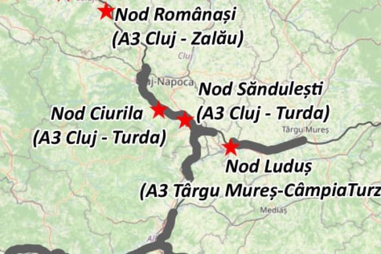 Veste bună! Cluj-Napoca va avea legătură cu Autostrada Transilvania, la Ciurila. Ce se va face și, mai ales, când