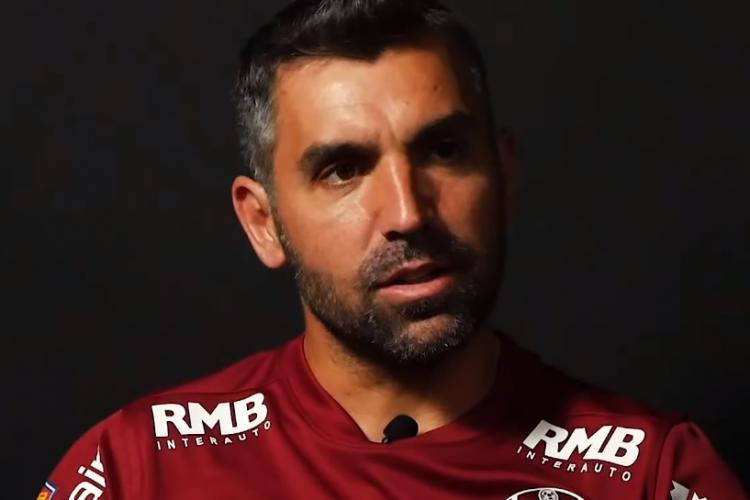 Emanuel Culio extrem de emoționat la CFR Cluj: Am venit înapoi acasă - VIDEO