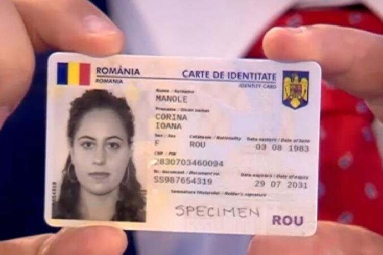 Cât costă noul buletin cu cip. A început deja să fie eliberat în Cluj