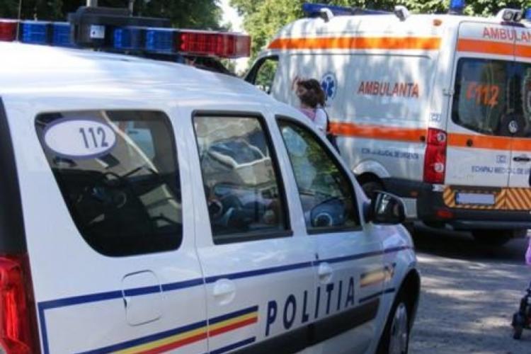 Un muncitor a căzut de la 9 metri înălțime de pe o clădire care se află în construcții, în Câmpia Turzii