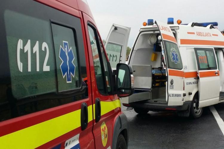 Accident rutier pe Aurel Vlaicu. Un bărbat a ajuns la spital