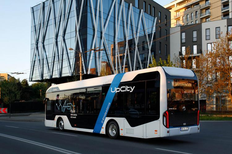 ATP Bus e-UpCity, autobuzul electric românesc, va fi testat la Cluj-Napoca - FOTO