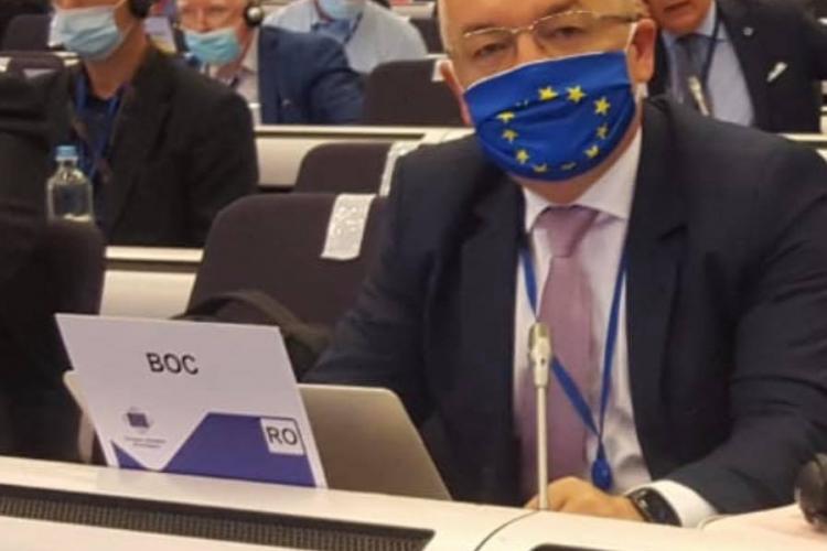 Boc a bătut cu pumnul în masă la Comitetul European al Regiunilor, pe tema exploziei prețului la electricitate și gaze