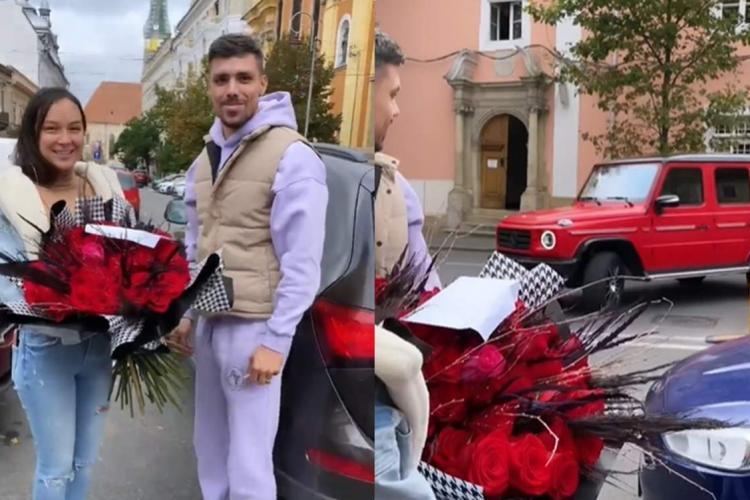 Mașină de lux primită cadou de Vlăduța Lupău. Soțul Adi Rus e un mare romantic - FOTO