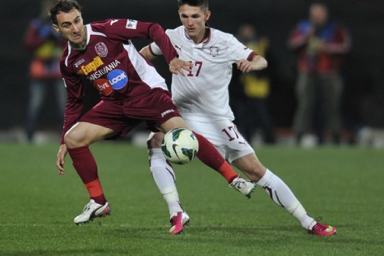 Din ce cauză Rapid și CFR Cluj nu pot juca meciul pe Arena Națională din București?