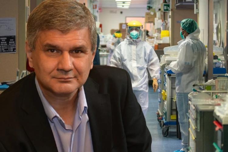 """Octavian Jurma:""""Carantină națională și inducerea stării de urgență săptămâna asta! 1 din 33 de persoane a fost infectată în ultimele 14 zile"""""""