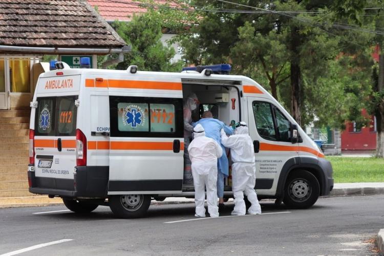 Aproape 500 de cazuri noi, în județul Cluj. Secțiile de Terapie Intensivă sunt tot mai pline