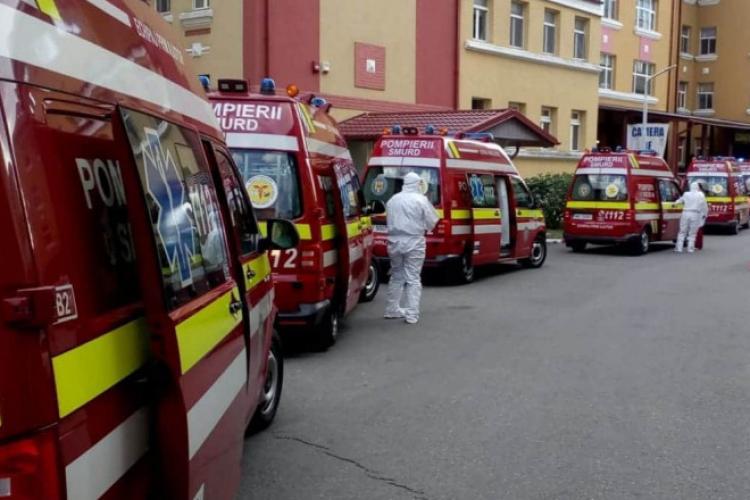 Noapte de FOC la Boli Infecţioase. Ambulanţele au stat la coadă în curte cu 99% dintre pacienți, nevaccinați