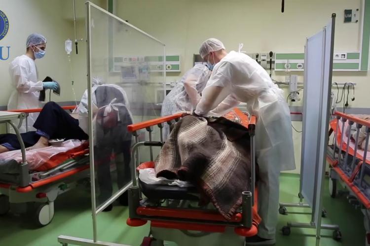Aproape 600 de noi infectați și 5 decese la Cluj. La ATI se aglomerează