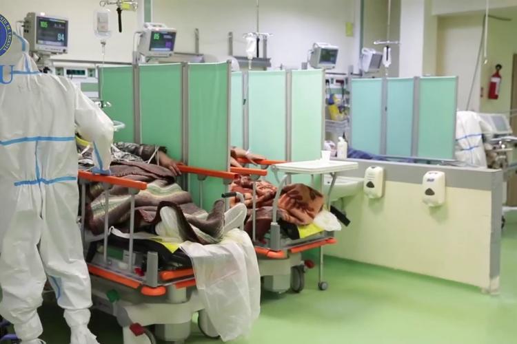 Au mai rămas 2 locuri la ATI în județul Cluj. Peste 500 de cazuri noi de COVID, în ultimele 24 de ore